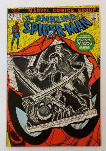 Amazing Spider-Man #113 VF Marvel Bronze Age 1972 Doctor Octopus