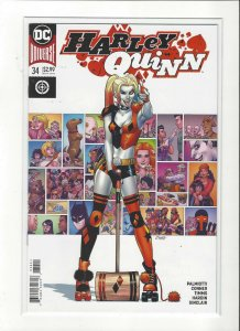Harley Quinn #34  DC Comics Connor Cover NM/M