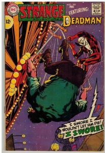 STRANGE ADVENTURES 209 VG ADAMS ART  ADAMS DEADMAN COMICS BOOK
