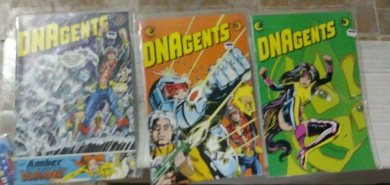 DNA AGENTS  #  4 5 7 1983  ECLIPSE  COMICS