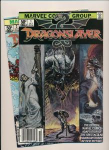 MARVEL Comics Set of 2- DRAGONSLAYER Vol 1 #1-#2 VF/NM(PF840)