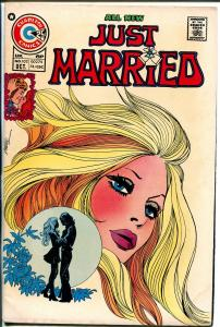 Just Married #102 1974-Charlton-provacative blonde girl cover-VG+