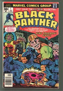 EVERYTHING SALE CONTINUES! BLACK PANTHER #1 1977 F/VF 7.0;KIRBY BABY!