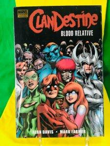 Clandestine: Blood Relative Graphic Novel (HC)