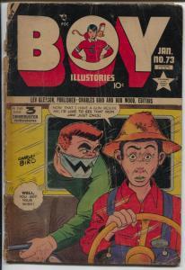 Boy #73 1951-Lev Gleason-Frank Frazetta-Norman Maurer-FR