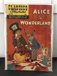 Classics Illustrated #49 Alice in Wonderland 8th Print HRN 166