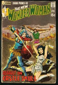Wonder Woman #192 1971- DC COmics- Castle Skull G