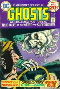 Ghosts #28 VG; DC | low grade comic - save on shipping - details inside