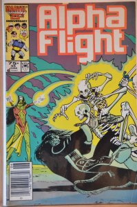 Alpha Flight #35 (1986) VF+