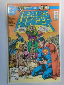 Heroes Against Hunger #1 8.0 VF (1986)
