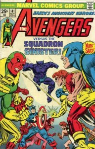 AVENGERS #141 (NG) stock photo