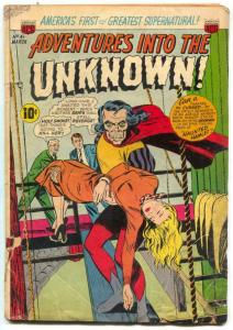 Adventures Into The Unknown #41 1953- ZOMBIES G-