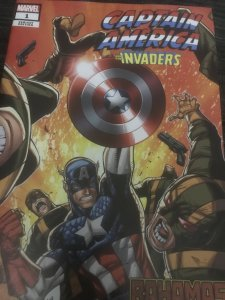 Marvel Captain America #1 Variant Mint