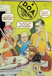 D.O.A. Comics #1 (Jan-76) NM- High-Grade