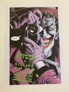 Batman The Killing Joke Joker DC Comics poster by Brian Bollard