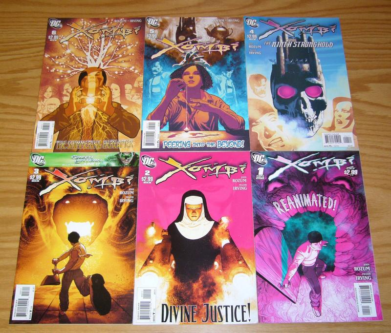 Xombi vol. 2 #1-6 VF/NM complete series - john rozum - fraser irving 3 4 5 set