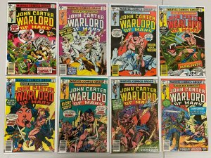 John Carter Warlord of Mars lot #1-28 + Annuals 30 diff books avg 6.0 FN (1977+)