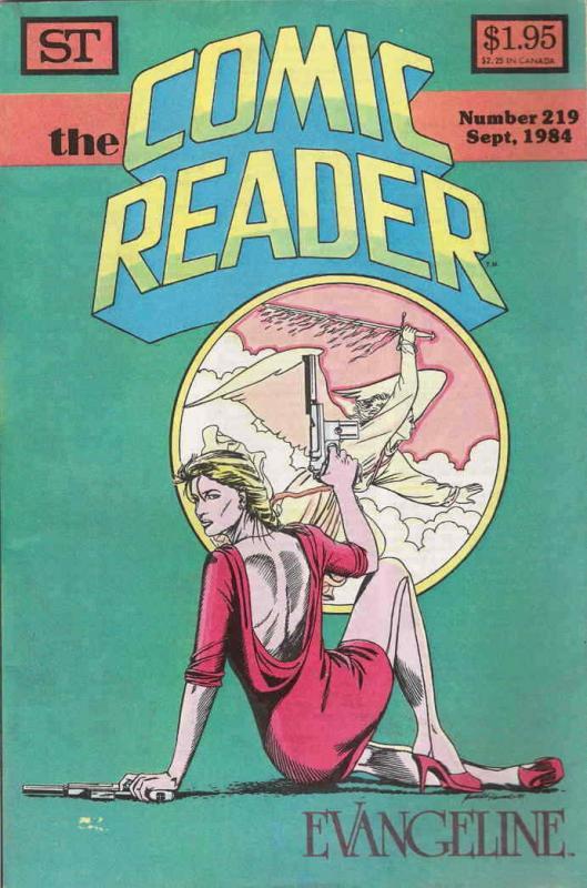 Comic Reader, The #219 FN; Street Enterprises | save on shipping - details insid