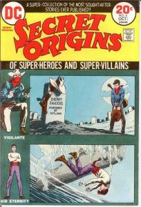 SECRET ORIGINS (1973) 4 VERY FINE October 1973 COMICS BOOK