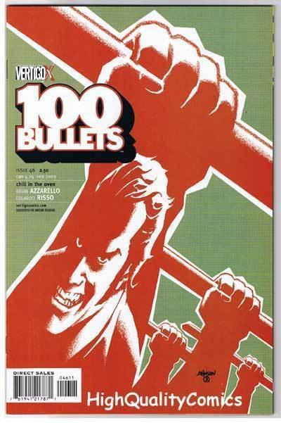 100 BULLETS #46, NM-, Brian Azzarello, Risso, Vertigo, 1999, more in store