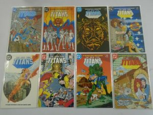 New Teen Titans 2nd series lot from:#2-94 30 different 8.0 VF (1984-92)