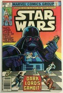 STAR WARS#35 VF 1980 MARVEL BRONZE AGE COMICS