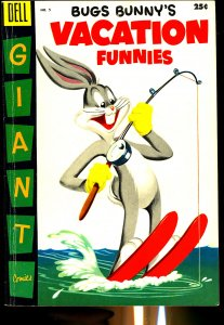 Dell Comics Bugs Bunny's Vacation Funnies #5