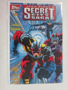 Jack Kirby's Secret City Saga (1993) #0A, VF Signed B4 : John Cleary