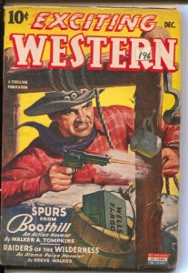 Exciting Western 12/1943-Thrilling- Alamo Paige of Pony Express-Navajo Raine-...