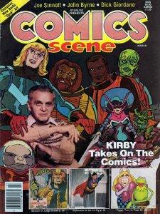 Comics Scene #2 FN; Starlog   save on shipping - details inside