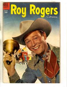 Roy Rogers # 85 VG/FN Dell Golden Age Comic Book Western Cowboy Horse JL8