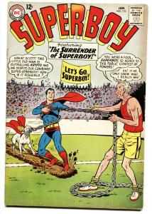 SUPERBOY #110 comic book 1964-DC-SILVER AGE ISSUE-GLOSSY COVER fn-