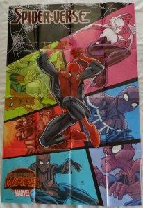 SPIDER-VERSE SECRET WARS  Promo Poster, 24 x 36, 2015, MARVEL, Unused 195