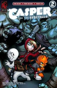 Casper and the Spectrals #2 VF/NM; Ardden | save on shipping - details inside