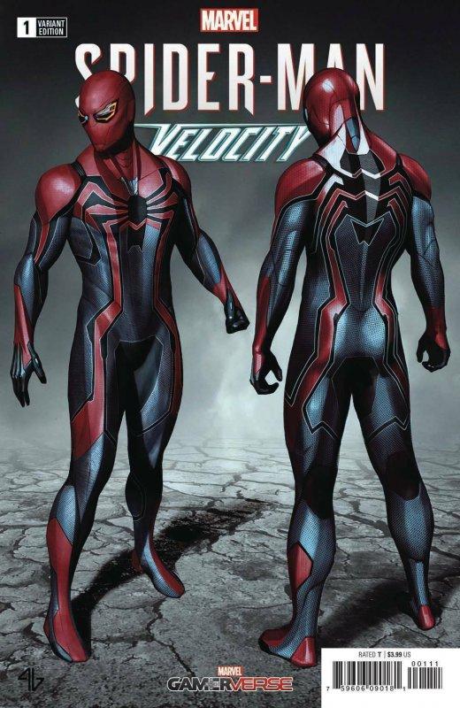 SPIDER-MAN VELOCITY 1 ADI GRANOV 1:25 INCENTIVE VARIANT NM PS4 SONY VIDEO GAME