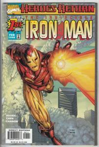 Iron Man, the Invincible #1 (5-Jan) NM/NM- High-Grade Iron Man