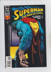 DC Comics! Superman! The Man of Steel! Issue 33!