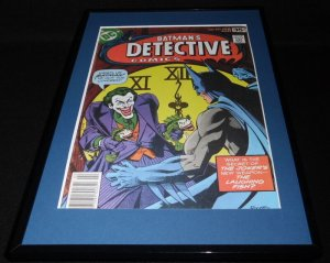 Detective Comics #475 Joker Framed 11x17 Cover Poster Display Official Repro