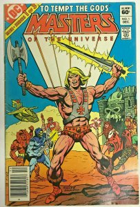 MASTERS OF THE UNIVERSE#1 FN 1982 DC BRONZE AGE COMICS