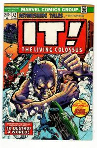 ASTONISHING TALES #23-comic book-Marvel-Comic Book