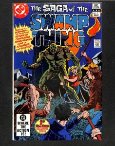 The Saga of Swamp Thing #1 (1982)