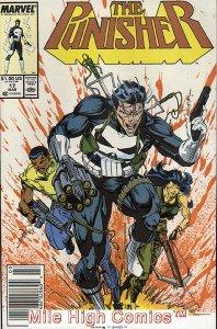 PUNISHER  (1987 Series)  (MARVEL) #17 NEWSSTAND Near Mint Comics Book