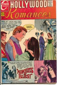 Hollywood Romances #53 1972-Charlton-spicy poses-VG/FN