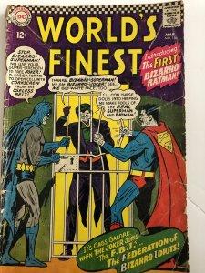 Worlds finest 156, reader, bizzarro Joker!! Classic!affordable!