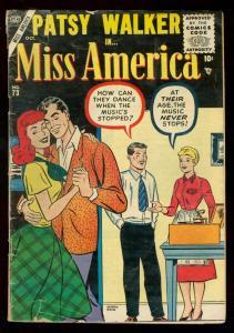 MISS AMERICA #73 1955 GOLDEN-AGE ROMANCE VG