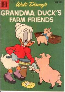 GRANDMA DUCKS FARM FRIENDS F.C. 965 VG+   1958 COMICS BOOK