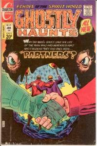 GHOSTLY HAUNTS (1971-1978) 29 FINE Ditko cover COMICS BOOK
