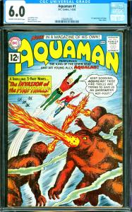 Aquaman #1 CGC Graded 6.0 1st Appearance of Quip