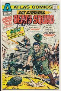 Atlas Comics Sgt. Stryker's Death Squad #1 FINE/VF 7.0 +/- (HX33)