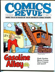 Comics Revue #16-Gasoline Alley-Steve Canyon-Spider-man-Bloom County-VF